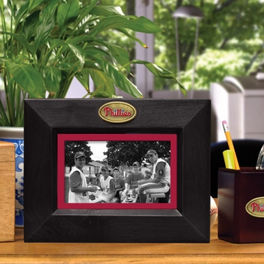 Philadelphia Phillies BLACK Landscape Picture Frame