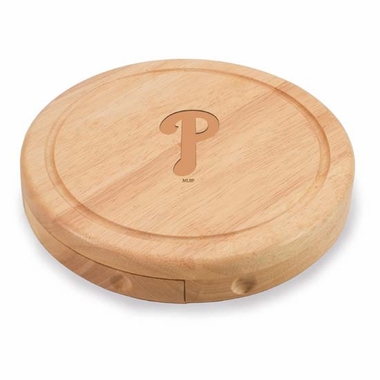 Philadelphia Phillies Brie Cheese Board