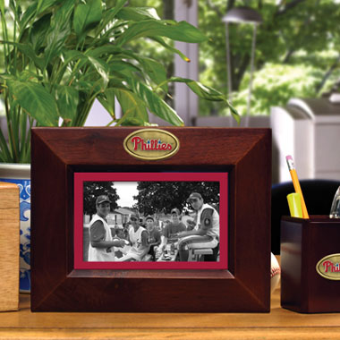 Philadelphia Phillies BROWN Landscape Picture Frame