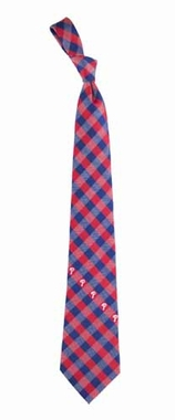 Philadelphia Phillies Check Poly Necktie