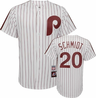Philadelphia Phillies Mike Schmidt Replica Throwback Jersey