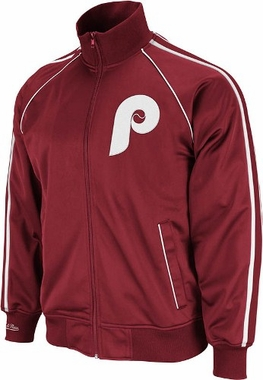 Philadelphia Phillies Mitchell & Ness Final Score Track Jacket