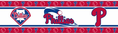 Philadelphia Phillies Peel and Stick Wallpaper Border