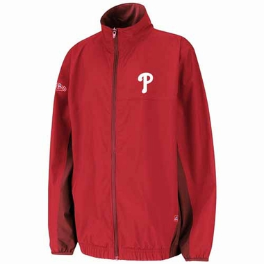 Philadelphia Phillies Springtide Full Zip Lightweight Water Resistant Jacket