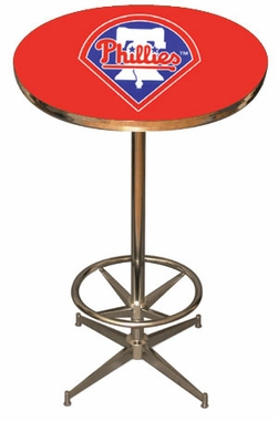 Philadelphia Phillies Team Pub Table