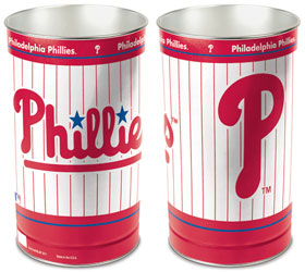 "Philadelphia Phillies 15"" Waste Basket"