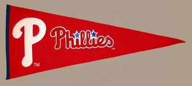 Philadelphia Phillies Wool Pennant