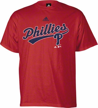 Philadelphia Phillies YOUTH New Script T-Shirt