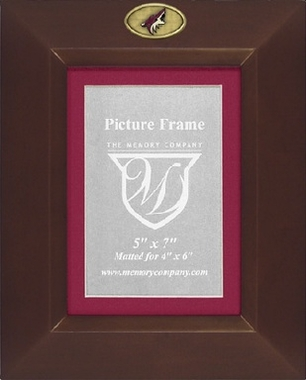 Arizona Coyotes BROWN Portrait Picture Frame