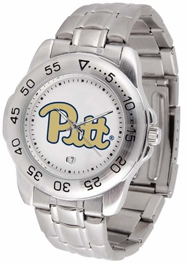 Pitt Sport Men's Steel Band Watch