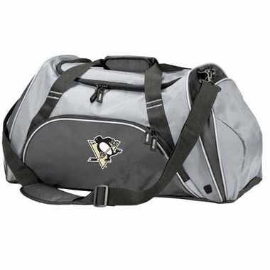 Pittsburgh Penguins Action Duffle (Color: Grey)