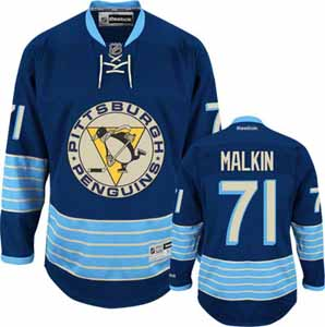 Pittsburgh Penguins Evgeni Malkin Team Color Premier Jersey - XX-Large