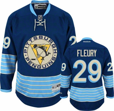 Pittsburgh Penguins Marc-Andre Fleury Team Color Premier Jersey