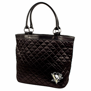 Pittsburgh Penguins Quilted Tote