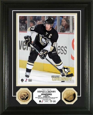 Pittsburgh Penguins Sidney Crosby 24KT Gold Coin Photo Mint