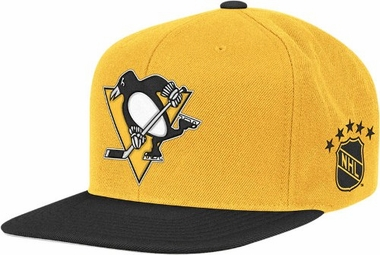 Pittsburgh Penguins Throwback Snapback Hat