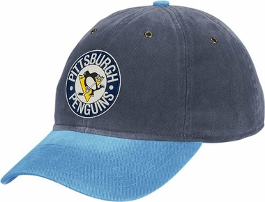 Pittsburgh Penguins Throwback Vintage Adjustable Hat