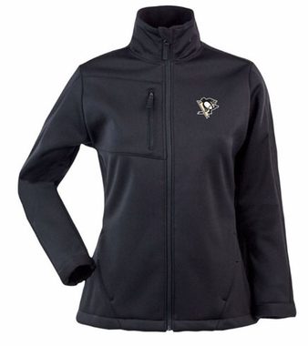 Pittsburgh Penguins Womens Traverse Jacket (Color: Black)