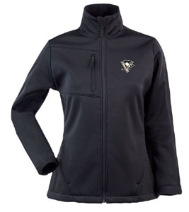 Pittsburgh Penguins Womens Traverse Jacket (Color: Black) - Small