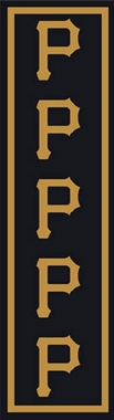 "Pittsburgh Pirates 2'1"" x 7'8"" Premium Runner Rug"