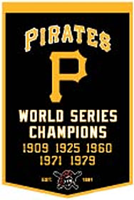 """Pittsburgh Pirates 24""""x36"""" Wool Dynasty Banner"""