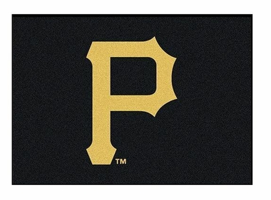 "Pittsburgh Pirates 5'4"" x 7'8"" Premium Spirit Rug"