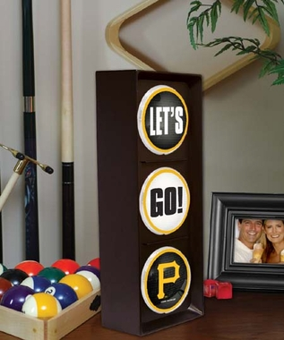 Pittsburgh Pirates Flashing Stop Light