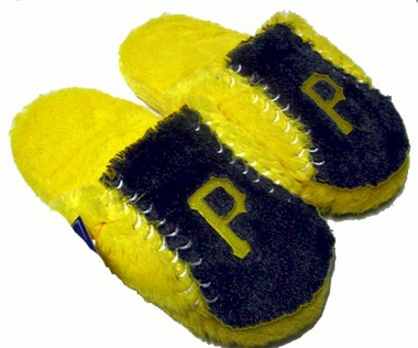 Pittsburgh Pirates Fuzzy Slippers