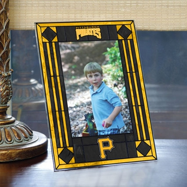 Pittsburgh Pirates Portrait Art Glass Picture Frame