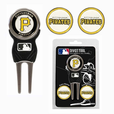 Pittsburgh Pirates Repair Tool and Ball Marker Gift Set