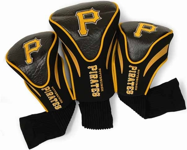 Pittsburgh Pirates Set of Three Contour Headcovers