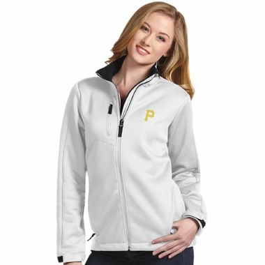 Pittsburgh Pirates Womens Traverse Jacket (Color: White)
