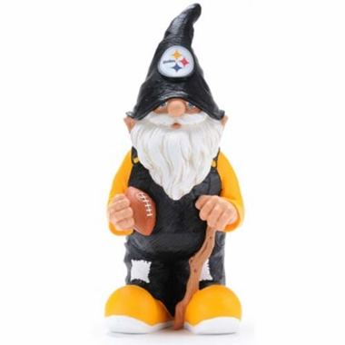 """Pittsburgh Steelers Garden Gnome - 11"""" Male"""
