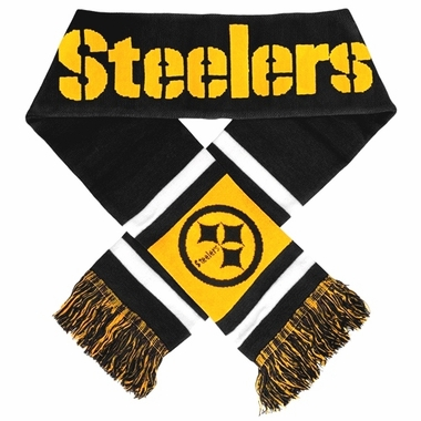 Pittsburgh Steelers 2012 Team Stripe Knit Scarf