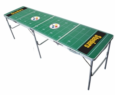 Pittsburgh Steelers 2x8 Tailgate Table
