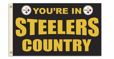 Pittsburgh Steelers 3' x 5' Flag (Country) (F)