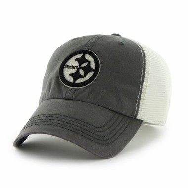 Pittsburgh Steelers 47 Brand NFL Caprock Canyon Mesh Back Stretch Hat