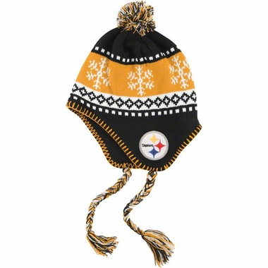 Pittsburgh Steelers Abomination Tassel Knit Hat