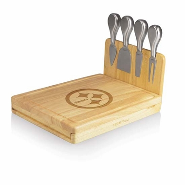 Pittsburgh Steelers Asiago Cheese Board