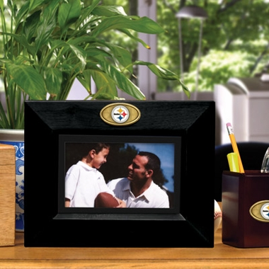 Pittsburgh Steelers BLACK Landscape Picture Frame