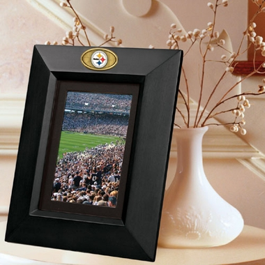 Pittsburgh Steelers BLACK Portrait Picture Frame