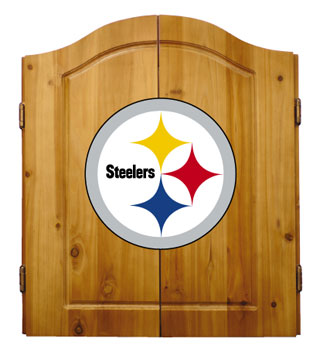 Pittsburgh Steelers Complete Dart Cabinet