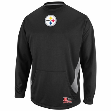 Pittsburgh Steelers Coverage Sack II Crew Sweatshirt