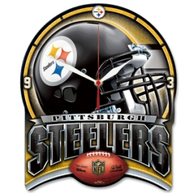 Pittsburgh Steelers High Definition Wall Clock