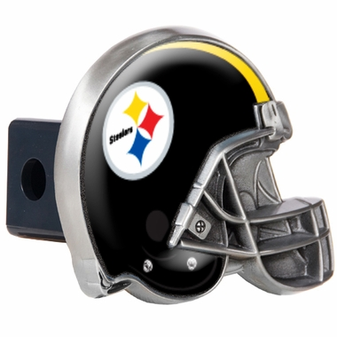 Pittsburgh Steelers Metal Helmet Trailer Hitch Cover