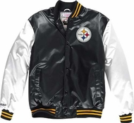 6d37aaa0b Pittsburgh Steelers Mitchell   Ness Sublimated Premium Jacket