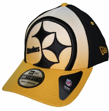 Pittsburgh Steelers New Era 39THIRTY Gradation Performance Fitted Hat