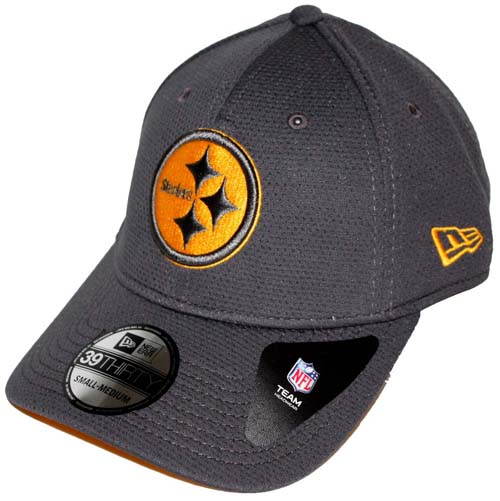 Pittsburgh Steelers New Era 39THIRTY Tech Grafpop Classic Fitted Hat bf43d581140