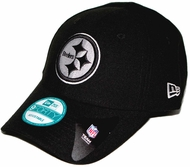 Pittsburgh Steelers New Era 9Forty League Adjustable Hat - Black d00a780d9