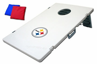 Pittsburgh Steelers Tailgate Toss 2.0 Cornhole Beanbag Game